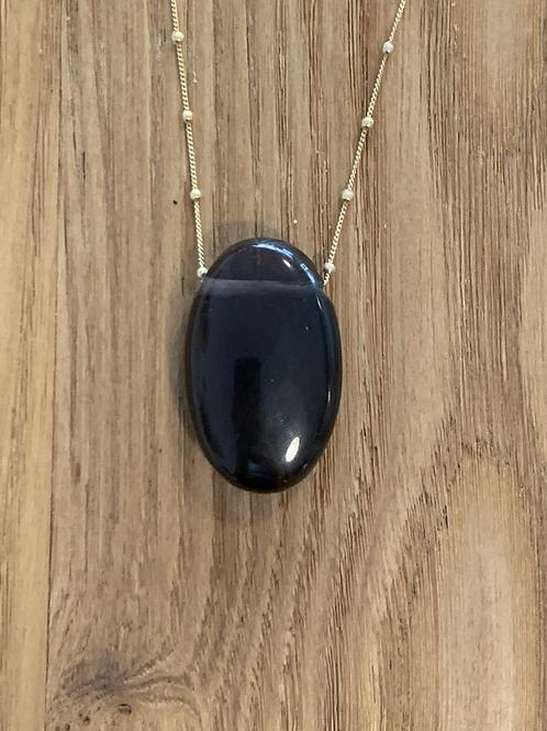 Obsidienne lamelle (midnight)