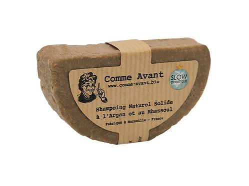 Shampoing Solide - Comme Avant - Argan et Rhassoul