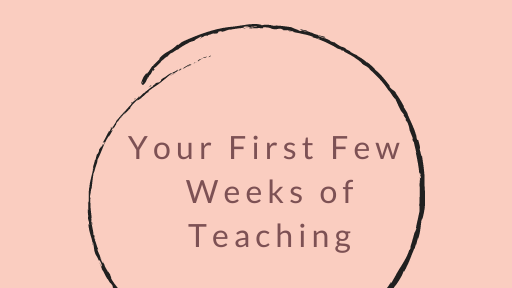 Your First Few Weeks of Teaching Ebook