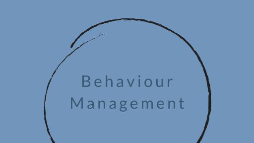 Behaviour Management Ebook