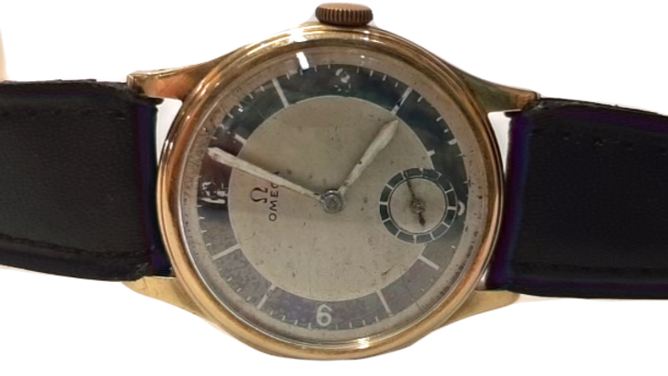 Omega 14ct Gold Mechanical Watch