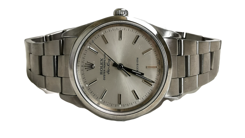 Rolex Air-King Precision Stainless Steel 1999