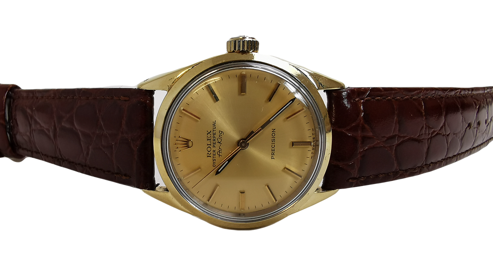 Rolex Air-King Precision 14k Gold Capped 1981