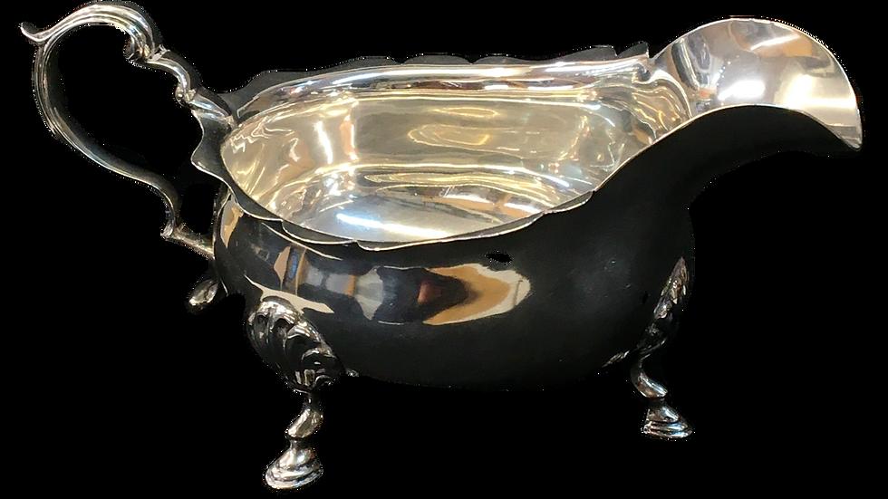Silver Gravy Boat 1910