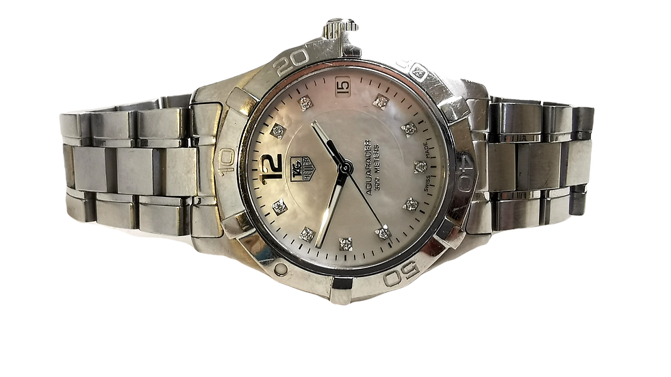 Tag Heuer LadyAquaracer Mother of Pearl Diamond Dot Quartz