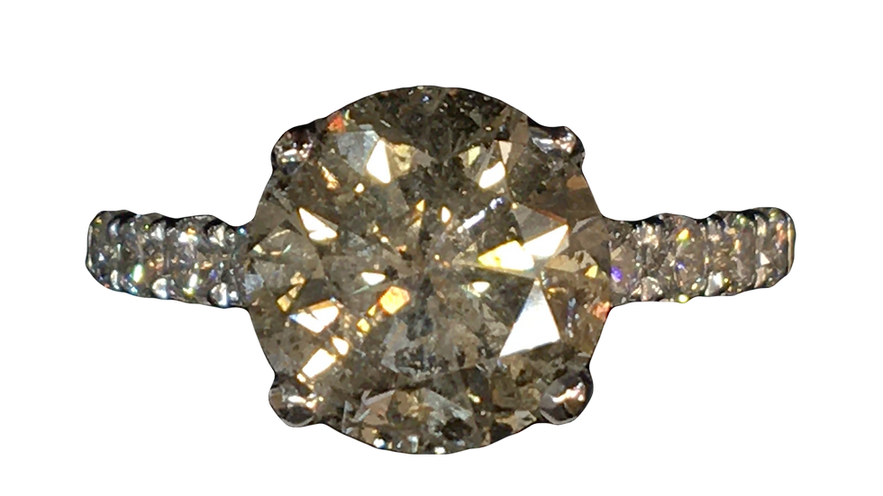 18ct White Gold 3.00ct Diamond ring