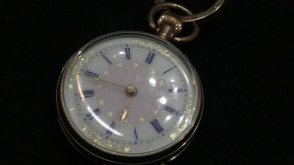 9ct Yellow Gold Pocket Watch