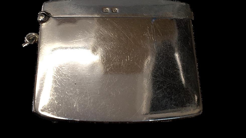 Silver Match Box 1913