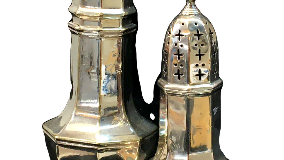 Silver Sugar Shaker 1920