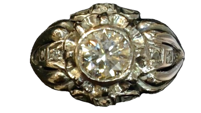 Art Deco Diamond Ring C.1936