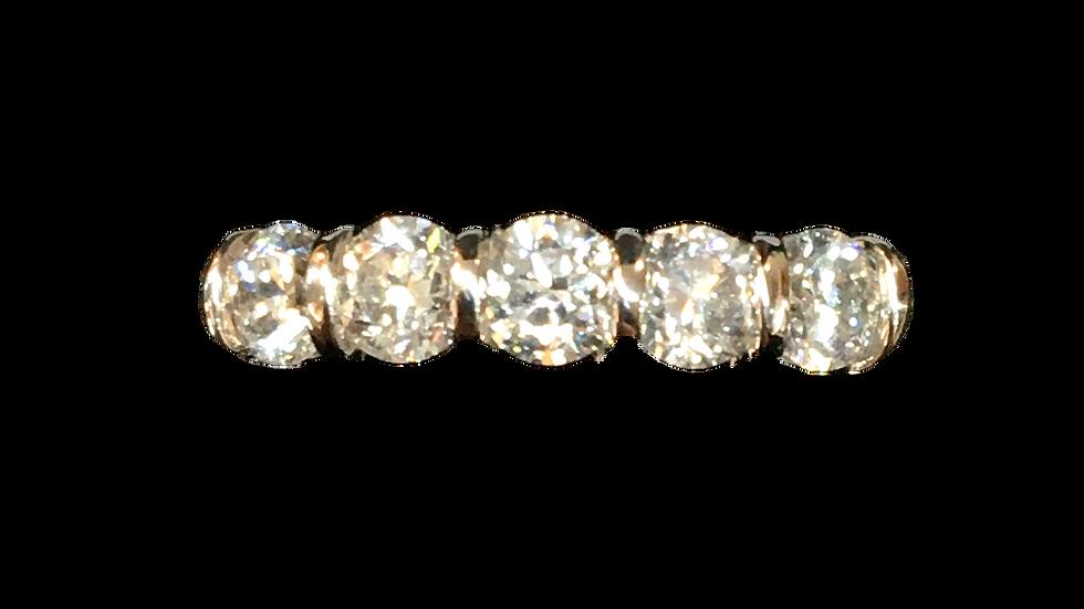 18ct Yellow Gold 0.70ct Diamond Ring