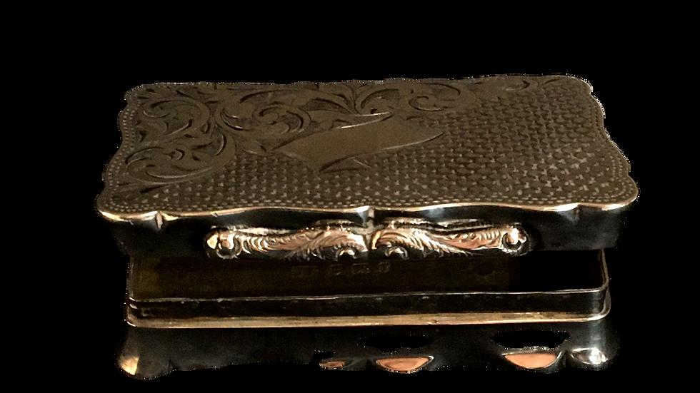 Silver Trinket Box 1905