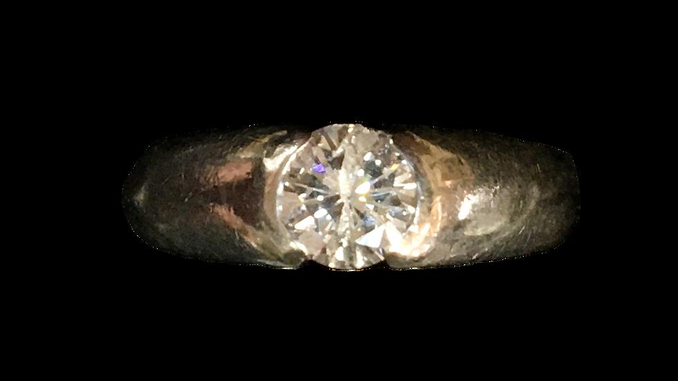 18ct White Gold 0.52ct Diamond