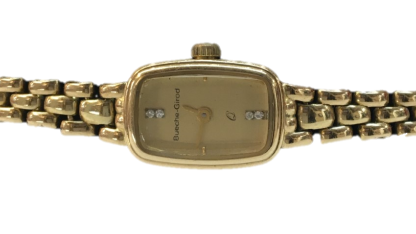 Bueche Girod 9ct Gold laides Watch
