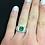 Thumbnail: 14ct White Gold Emerald & Diamond Ring
