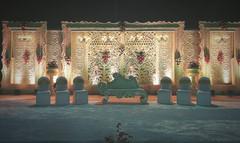 Royal Reception stage decor