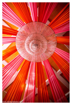 Dome Chandelier Drapes