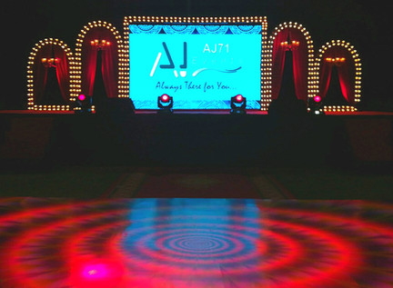 Royal Sangeet Setup