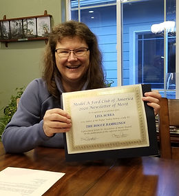 Lisa Newsletter Award.jpg
