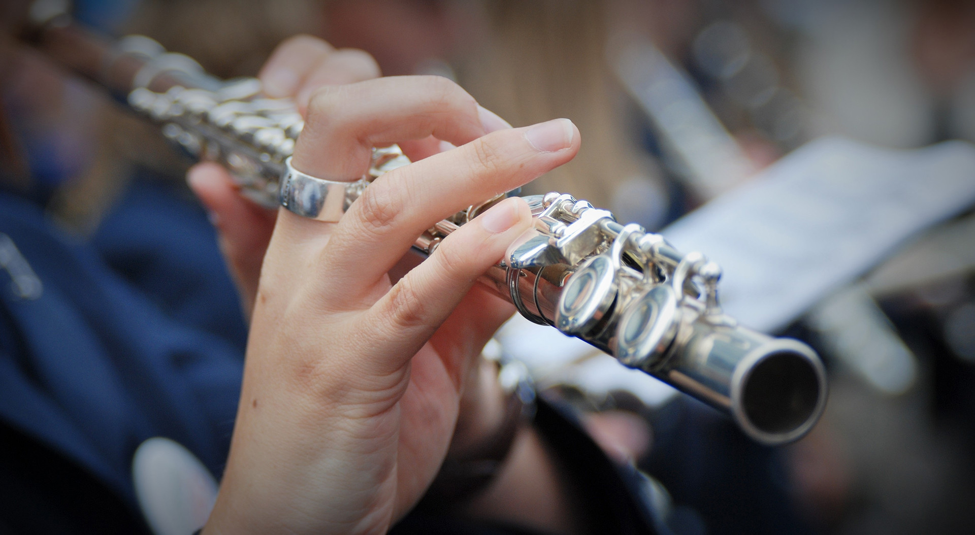 playing Flute
