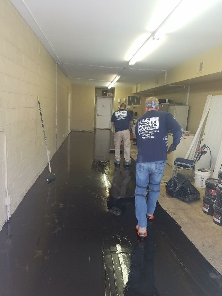 chicago epoxy flooring naperville burr ridge install residential commerical