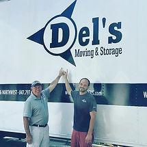 Del's moving & storage Chicago