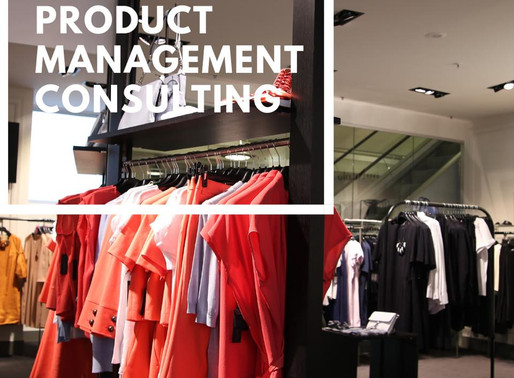 PRODUCT MANAGEMENT  CONSULTING SERVICES