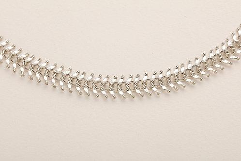Fishbone Gümüş Kaplama