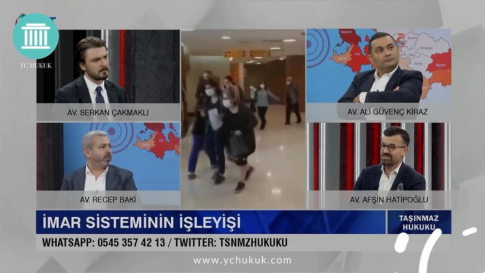 Avukat Serkan Çakmaklı ile KRT Tv 'de Taşınmaz Hukuku 2. Bölüm