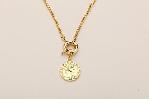 Elizabeth Madalyon Altın Renk