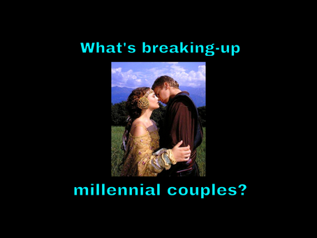 What's Breaking-up Millennial Couples? - 16oct21