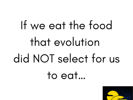 If we eat the food...