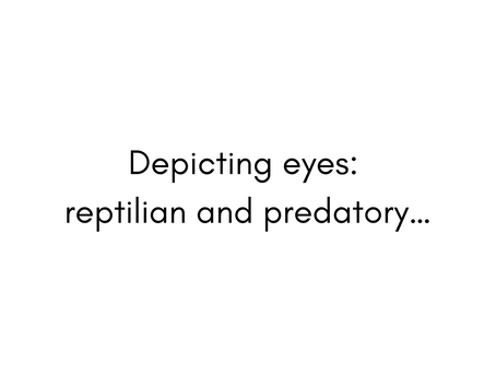 Reptilian and Predatory...