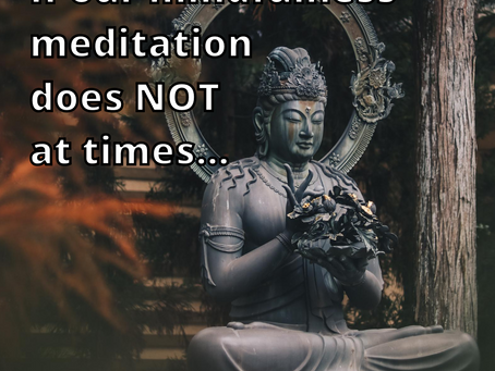 Uncomfortable Mindfulness