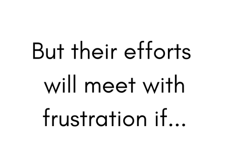 Meet with frustration...