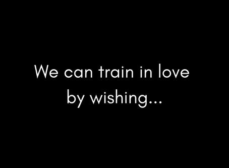 Train in love...