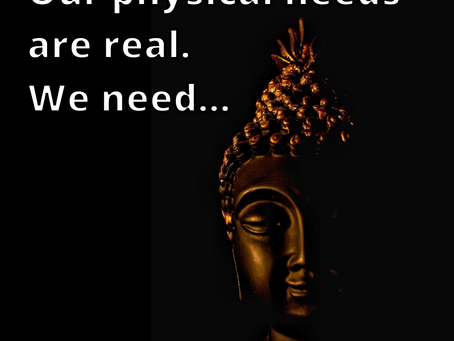 Our Physical Needs