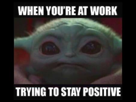Positivity is Violent - 18oct21