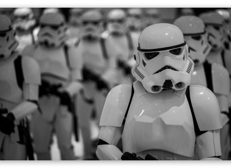 Like a Cadre of Stormtroopers - a brief fiction