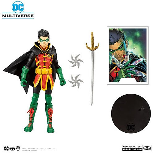 "DC Multiverse Figures - 7"" Scale Damien Wayne Robin"
