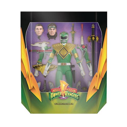 Super7 Power Rangers Ultimates Green Ranger Action Figure