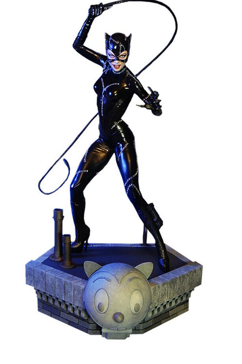 Catwoman Maquette by Tweeterhead Batman Returns Statue Michelle Pfeiffer