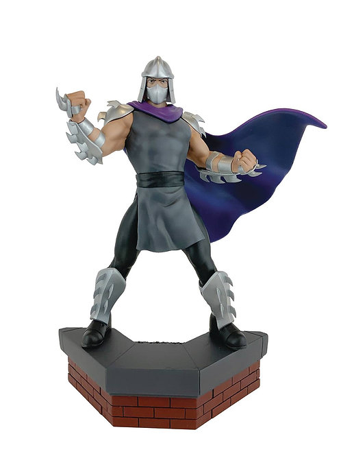 PCS Collectibles-TMNT  1:8 Shredder Scale PVC Statue