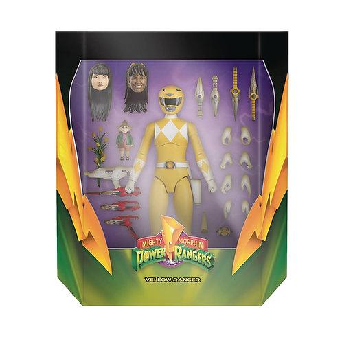 Super7 Power Rangers Ultimates Yellow Ranger Action Figure