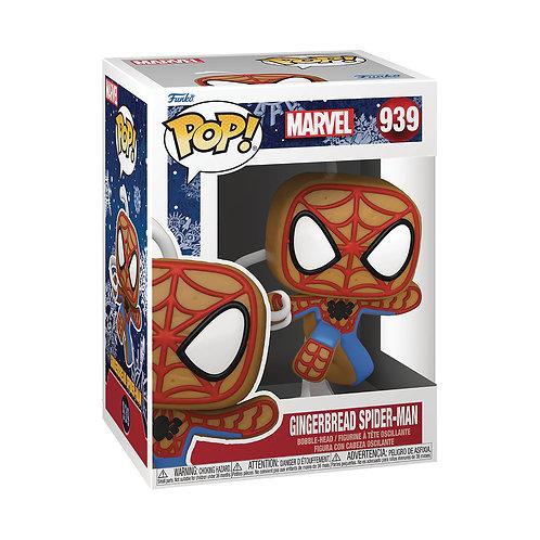 FUNKO POP MARVEL HOLIDAY SPIDER MAN VIN FIG