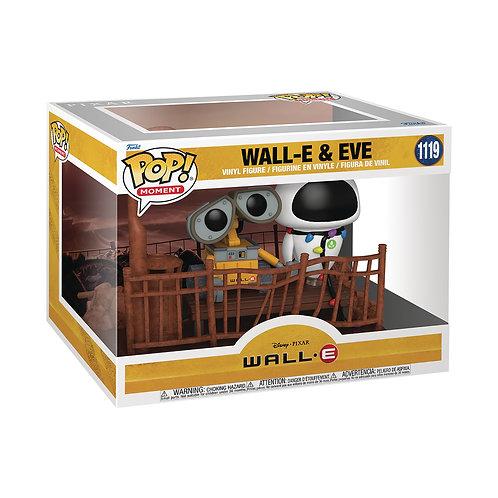 FUNKO POP MOMENT WALL-E & EVE VIN FIG