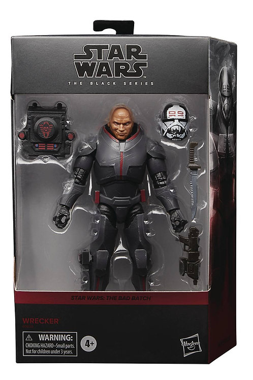 HASBRO SW BLACK SERIES 6IN DLX BAD BATCH WRECKER