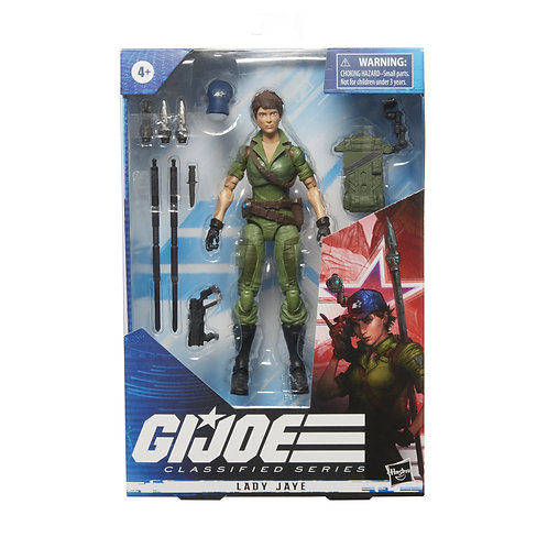 HASBRO GI JOE CLASSIFIED SERIES 6IN LADY JAYE AF