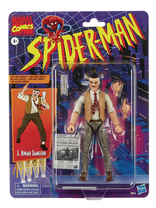 SPIDER-MAN VINTAGE JONAH JAMESON 6IN