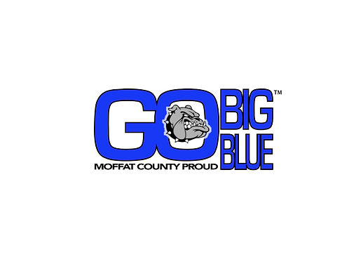"T-Shirt - ""Go Big Blue"" Apparel"